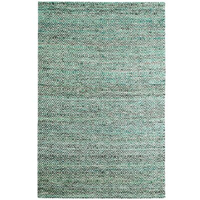 Agrippa Jungle Green Area Rug Rug Size: 9 x 12