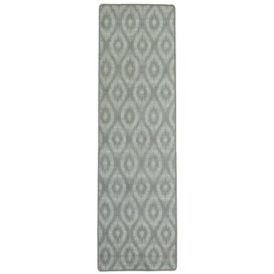 Intuition Ikat Grey Area Rug Rug Size: Runner 2'6