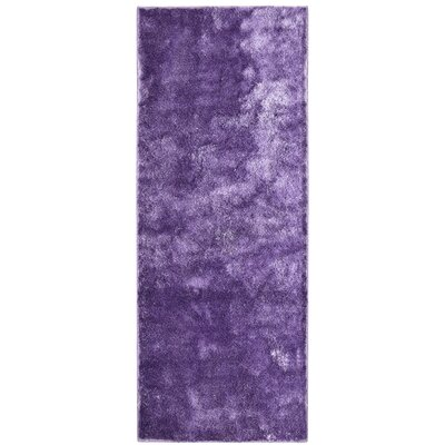 Metro Silk Lilac Area Rug Rug Size: Runner 26 x 8