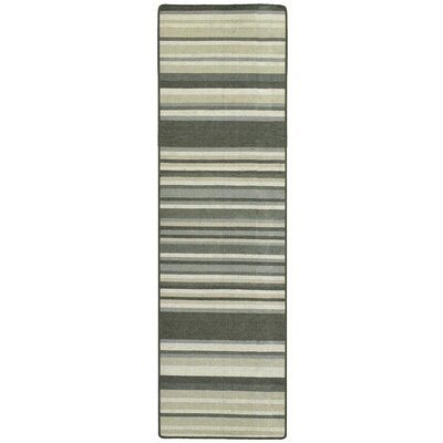 Intuition Stripe Area Rug Rug Size: Runner 26 x 8