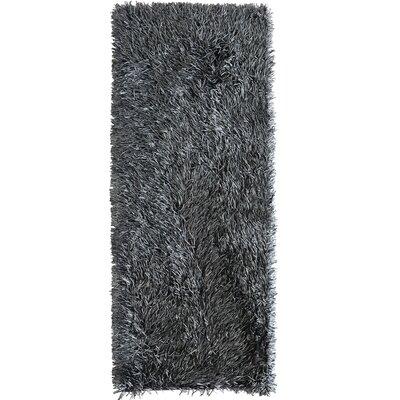 Japan Black Area Rug Rug Size: Runner 2 x 8