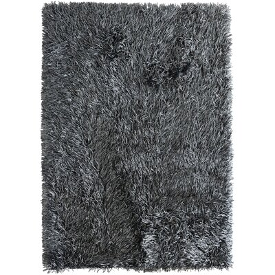 Japan Black Area Rug Rug Size: 9 x 12
