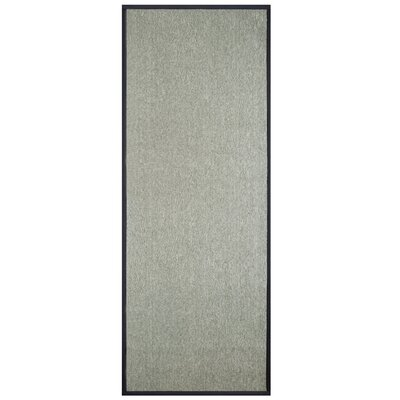 Marica Synthetic Sisal Gray Area Rug Size: Runner 2 x 8