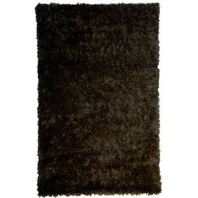 Bachata Hand Woven Espresso Rug Rug Size: Runner 2 x 8