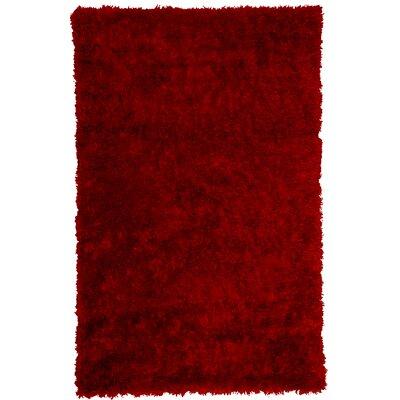 Bachata Red Rug Rug Size: 5 x 7