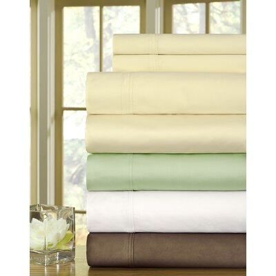 510 Thread Count Egyptian Quality Cotton Sheet Set Size: Queen, Color: Sterling Blue