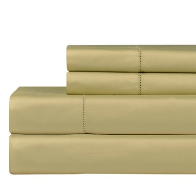 610 Thread Count Pillowcase Color: Pistachio, Size: King