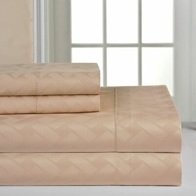 410 Thread Count Sheet Set Size: Queen, Color: Camel