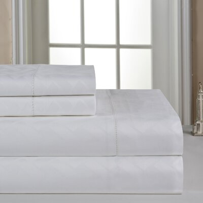 410 Thread Count Sheet Set Color: White, Size: Queen