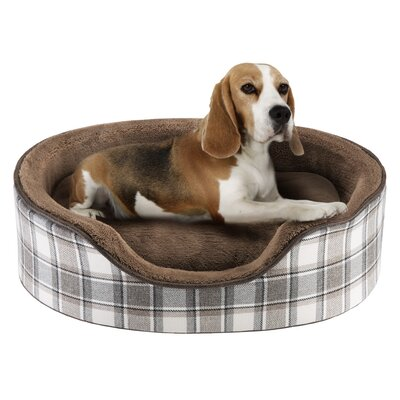 Cody Oval Cuddler Bolster Dog Bed Size: 27 L x 21 W