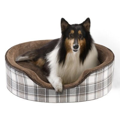 Cody Oval Cuddler Bolster Dog Bed Size: 36 L x 24 W