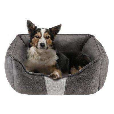 Jackson Rectangular Cuddler Bolster Dog Bed Size: 34 L x 24 W