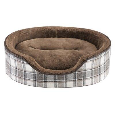 Cody Oval Cuddler Bolster Dog Bed Size: 18 L x 14 W