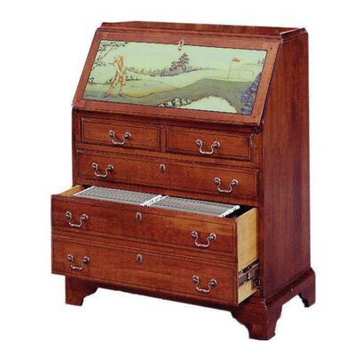 One of a kind File Drawer Secretary Desk Product Photo
