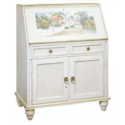 Bahama Breeze Computer Secretary Desk Finish: French White Product Picture 10