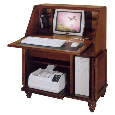 Bahama Breeze Computer Secretary Desk Crackle Product Photo