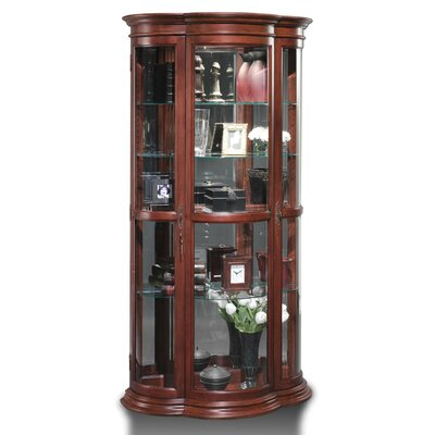 Doubleday Lighted Curio Cabinet