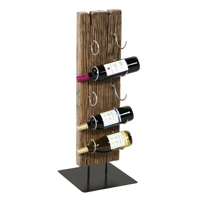 Wagon Wheel 5 Bottle Tabletop Wine Rack
