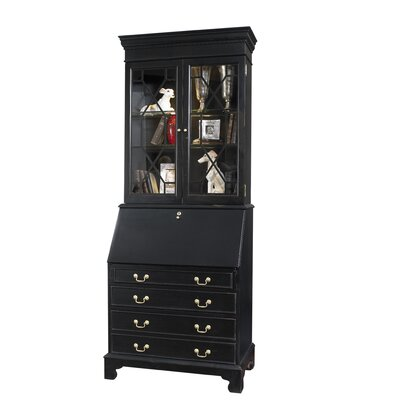 Traditional Painted Drawer Secretary Desk Bernard Product Photo 524