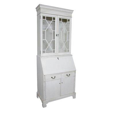 Bernard Painted Armoire Desk Hutch Product Photo 835