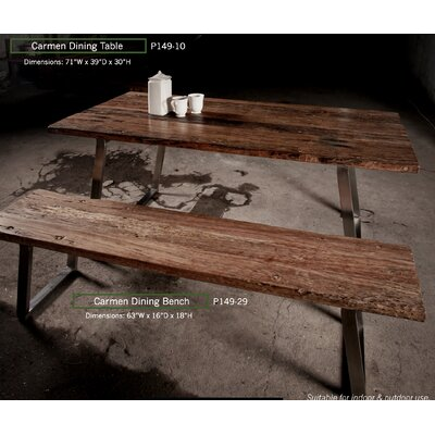 Shantae 3 Piece Dining Set