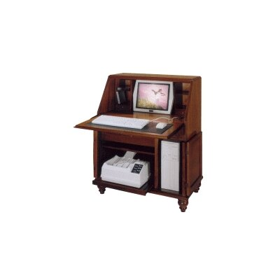 Bahama Breeze Computer Secretary Desk Finish: Autumn Product Image 158