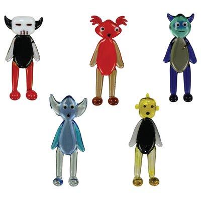 5 Piece Wa2C AkbaR, BasilliO, CaliB, DechA and EwaN Figurine 41001