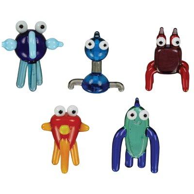 5 Piece TOObz akOOzab, bazOO, cOOda, gadzOOk and mOOshu Figurine Set 41007