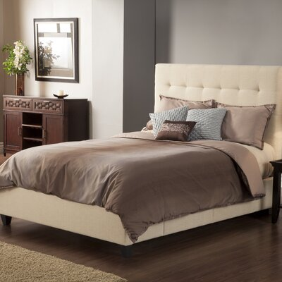 Manhattan Upholstered Storage Platform Bed Size: King, Upholstery: Wheat