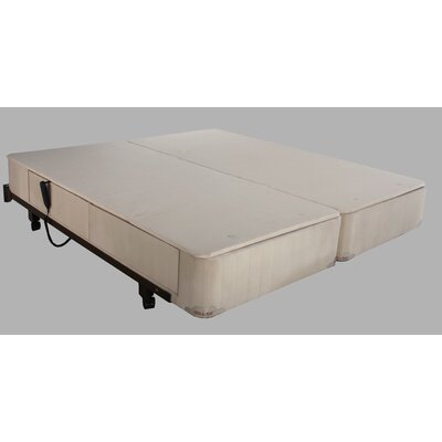 Full Electric Twin extra long Upholstered Adjustable Bed Accessories: Right side Drawers