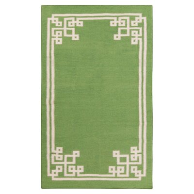 Alameda Spinach Green Area Rug Rug Size: Rectangle 33 x 53