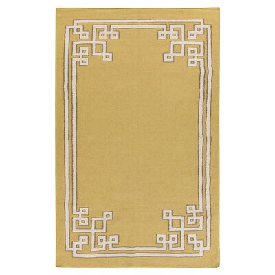 Alameda Olive Area Rug Rug Size: Rectangle 8 x 11