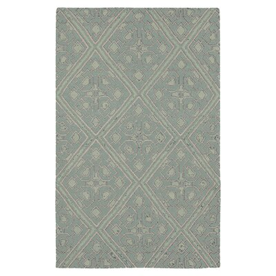 Alameda Hand woven Blue Haze Area Rug Rug Size: Rectangle 2 x 3