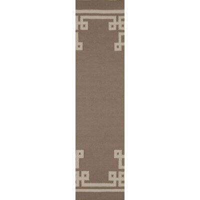 Alameda Brown Area Rug Rug Size: Runner 26 x 8