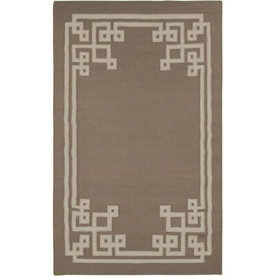 Alameda Brown Area Rug Rug Size: 33 x 53