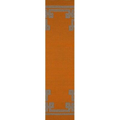 Alameda Pumpkin Area Rug Rug Size: Runner 26 x 8