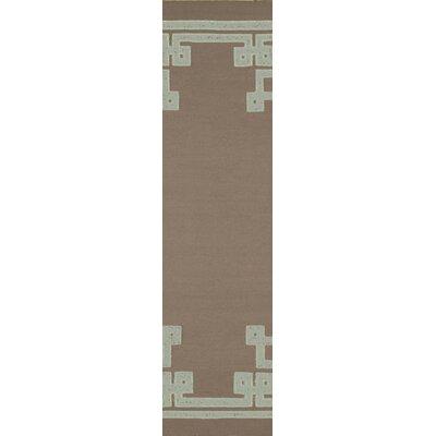 Alameda Dark Taupe Area Rug Rug Size: Runner 26 x 8