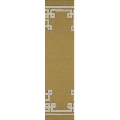 Alameda Olive Area Rug Rug Size: Runner 26 x 8