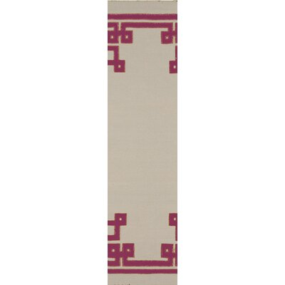 Alameda Ivory Area Rug Rug Size: Runner 26 x 8