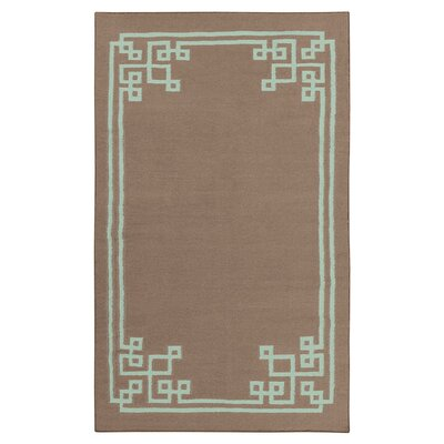 Alameda Dark Taupe Area Rug Rug Size: Rectangle 5 x 8