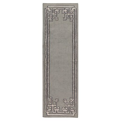 Alameda Dove Gray Area Rug Rug Size: Runner 26 x 8