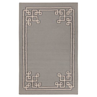 Alameda Dove Gray Area Rug Rug Size: Rectangle 33 x 53