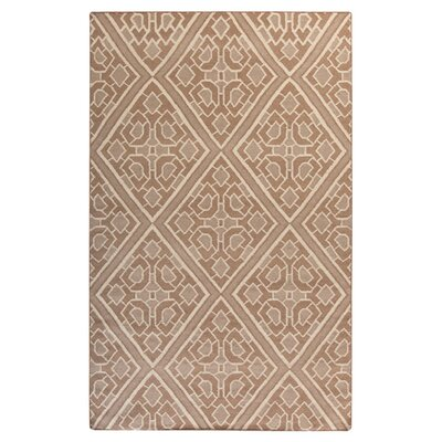 Alameda Hand woven Brown/Tan Area Rug Rug Size: 5 x 8