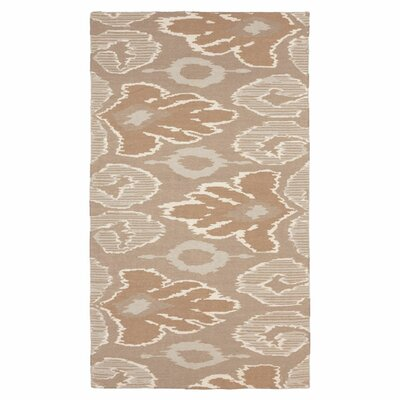 Alameda Hand woven Brown/Tan Area Rug Rug Size: Rectangle 5 x 8