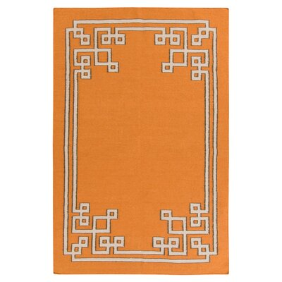 Alameda Pumpkin Area Rug Rug Size: Rectangle 33 x 53