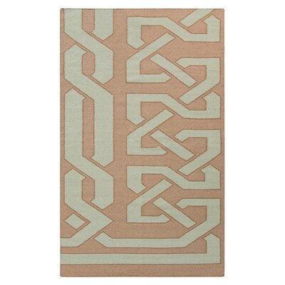 Alameda Hand woven Taupe/Light Brown Area Rug Rug Size: 33 x 53