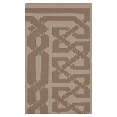 Alameda Hand woven Brown/Taupe Area Rug Rug Size: Rectangle 5 x 8