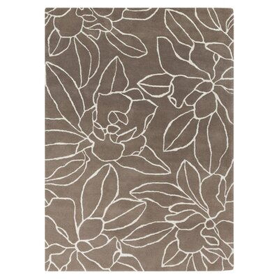 Stone Winter White Rug Rug Size: Rectangle 8 x 11