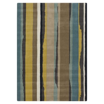 Multi-Colored Area Rug Rug Size: 33 x 53
