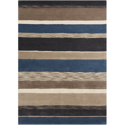 Sanderson Taupe Rug Rug Size: Rectangle 33 x 53